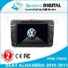 Sharing Digital High Tech Car Radio DVD Player GPS Navigation for VW SEAT ALHAMBRA 2010-2011