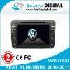 Sharing Digital High Tech Car Radio DVD Player GPS Navigation for VW SEAT ALHAMBRA 2010-2011