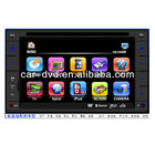 "6.2"" Car DVD Player with car rear camera and digital tv for universal"