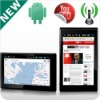 7 inch android GPS with touch screen and power GPS, WI-FI