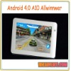 "7"" Android 4.0 Allwinner A10 Tablet PC 512MB 4GB 8GB Capacitive Screen"