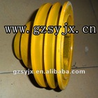 Caterpillar E320B/C crankshaft pulley for excavator