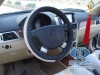 Charvaka Car steering wheel cover black and white LT-RSWC039