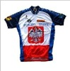 100% polyester colorful cycling jerseys
