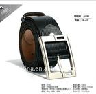 2012 latest design mens 100% cow hide leather belt