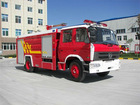 Dongfeng 145 water tank fire-fighting truck