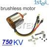 750KV Outrunner Brushless Motor rc brushless motor with mount For RC Hobby