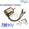 750KV Outrunner Brushless Motor rc brushless motor with mount For RC Hobby