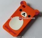 2011 New Arrival Silicone Mobilephone case for high grade phone with fashionable design and soft handle