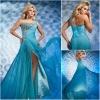 JE0176 New Design Sky Blue Evening Dresses New Fashion 2012
