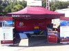 Dye sublimation printing tent/gazebo