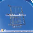 "Slat wall/Grid wall Basket 15"" Long X 12"" Deep X 5"" High With 3"" Slant"