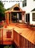 Garden platform wooden platform wood plank road -9(see picture)