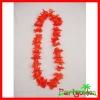 Hawaiian Silk Flower Lei/ Polyester Flower Lei/ Luau Party Flower Pwrals