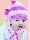 hand knitted children hat HT9003-1