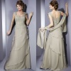 MOD564 Elegance Heart-neck Chiffon Lace Mother Dress Mother of Bride Dress