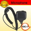 High performance handheld two way radio microphone (KMC-17)