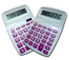 12 destop office use desktop promotion plastic calculator