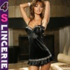 Women's Babydoll Chemise lingerie bar&top set include panty CH0237