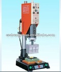Ultrasonic welding machine for plastic material