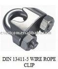 WIRE ROPE CLIPS EN13411-5