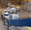 production line conveyor system and roller idler