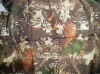 210D oxford PA PU PVC coated camouflage fabric