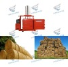 straw press baler