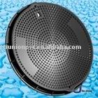 SMC Manhole Cover BS EN 124 /frp manhole cover