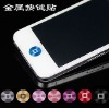 For iphone 4 Metal home button sticker with retail packaging,K1641