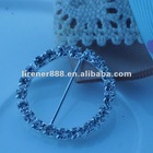 2.5 cm jewelry decorative buckle for wedding chair sash