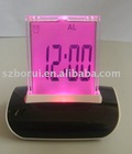 7color changing LCD clock