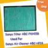 free shipping Air Cleaner Filter ABC-FKH15B used for Sanyo ABC-HP14 air cleaner