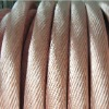 High electric conductivity copper stranded wire