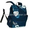Fashion Design Printed Canvas Backpack Bag