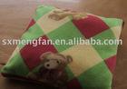 fleece cushion/seat car sofa cushion throw pillow