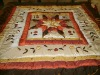 100% Polyester embroidery patchwork quilt