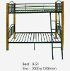 Standard metal dormitory bunk bed