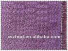 Fashion fabric purple sequins jacquard fabric