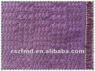 Fashion fabric purple sequins jacquard fabric