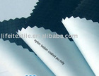 milky white pu coated nylon taslon fabric for jackets