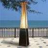 Patent Gas Patio Heater Quartz Glass tube Pyramid Flame