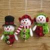 Jingle Bell Snowman Christmas Tree Ornament