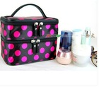 Makeup Cosmetic Container Hand Case Double Layer