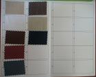 Taffeta Colour Card---t7