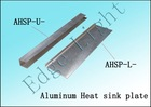 Aluminum heat sink plate