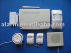 8 wireless zones and 4 wired zones alarm system for home with home appliance control function
