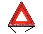 reflective car warning triangle