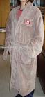 Microsoft coral fleece bathrobe,sherpa fleece bathrobe