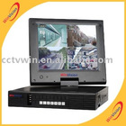 "4channel 10.5""LCD Monitor DVR with h.264 compression"